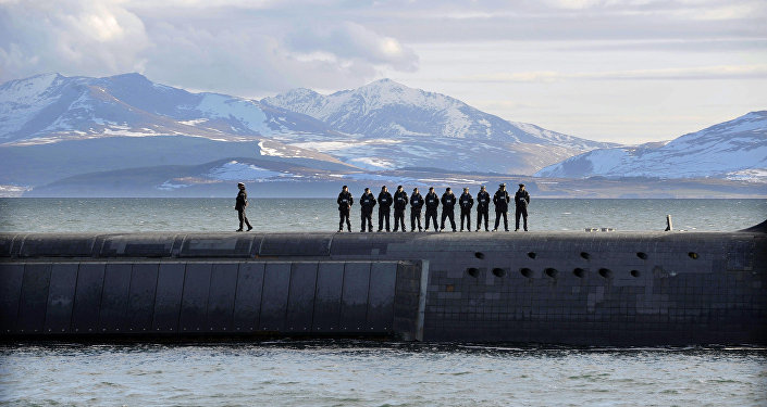 Le sous-marin du projet Trident HMS Victorious