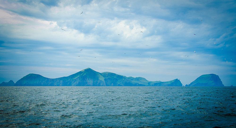 Saint-Kilda, archipel écossais dans l'océan Atlantique
