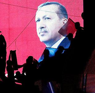 Les partisans d'Erdogan célèbrent l'échec du coup d'Etat