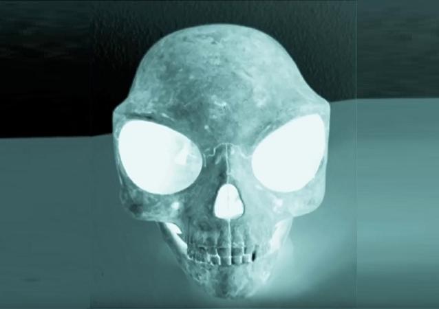 Le crâne mystérieux