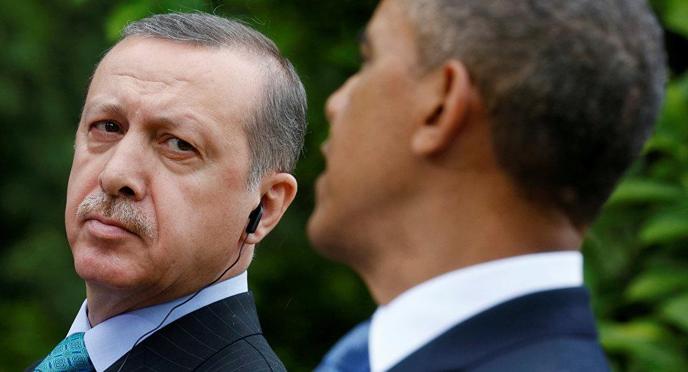 Recep Tayyip Erdogan et Barack Obama