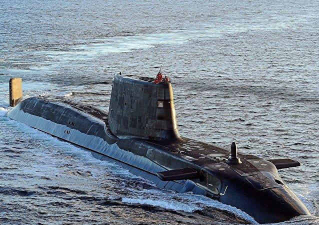 Le sous-marin britannique Ambush