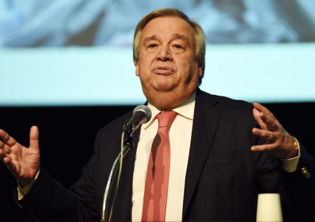 L'ancien premier ministre portugais Antonio Guterres