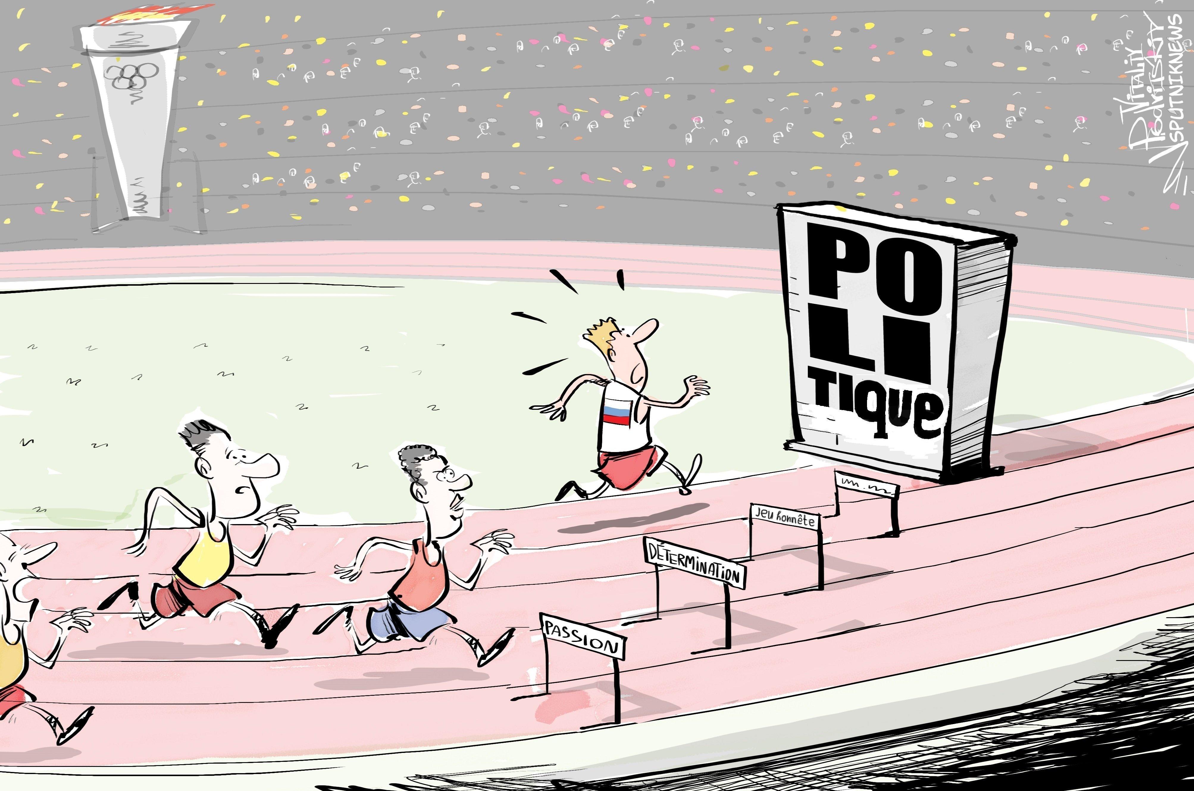 Ravisez-vous, les gens du CIO! La Russie doit participer aux JO
