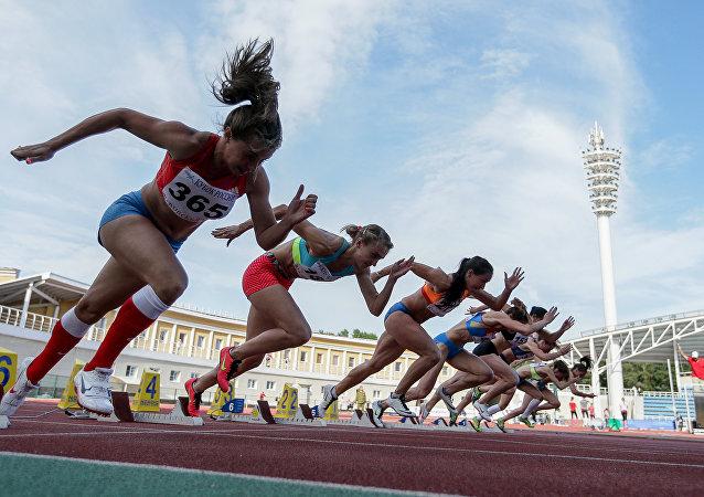 Les athlètes russes
