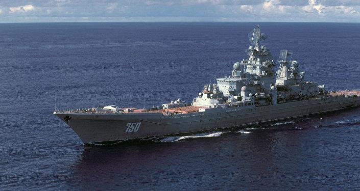 Croiseur russe lance-missiles à propulsion nucléaire de classe Kirov (projet 1144)