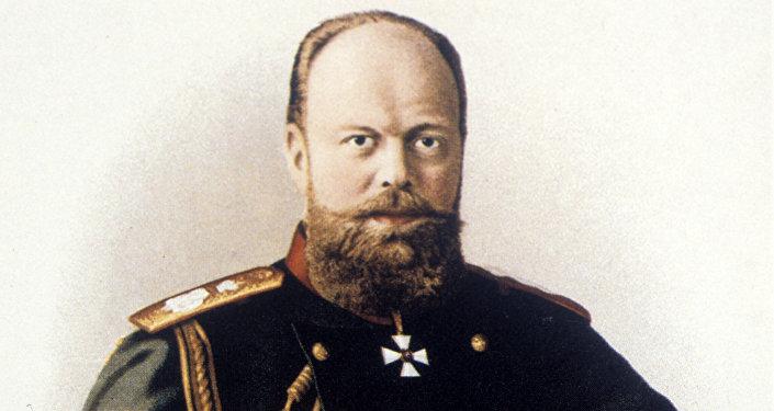 L'empereur Alexandre III de Russie