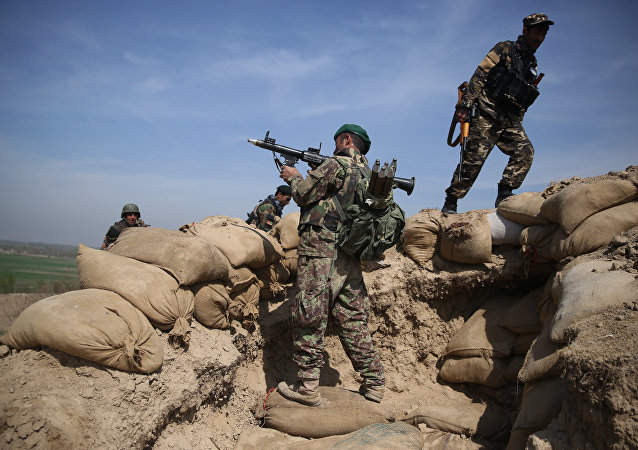 L'armée afghane prend position