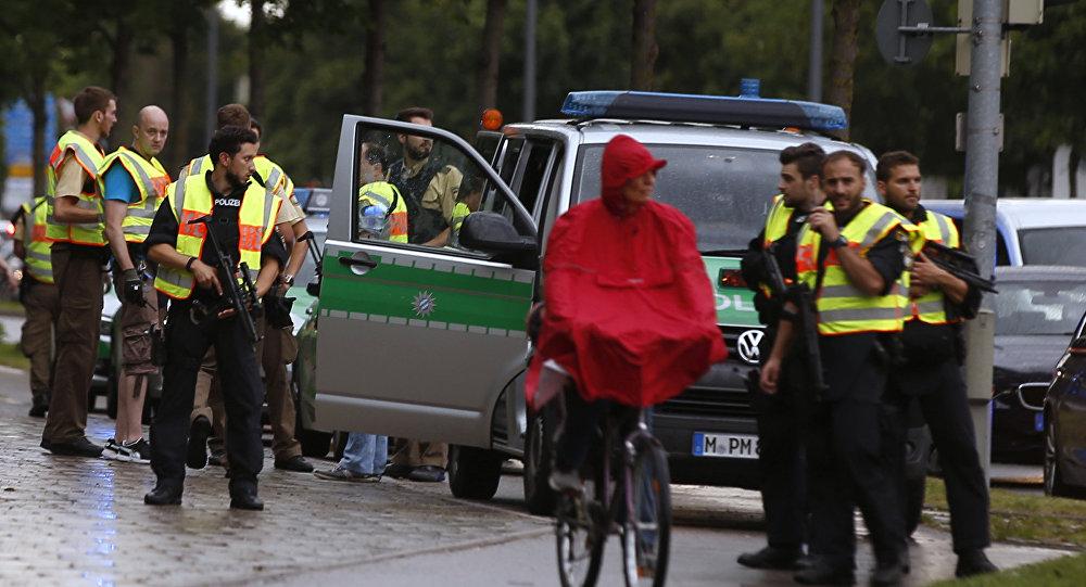 Munich après la fusillade du 22 juillet 2016