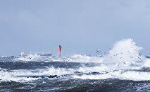 La mer Baltique en Lettonie