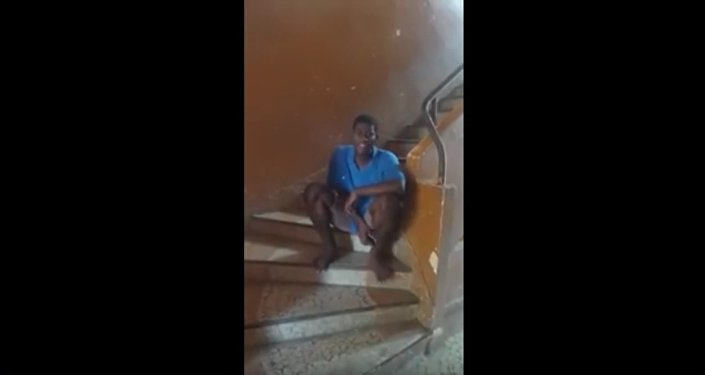 Samuel, un jeune homme originaire du Gabon