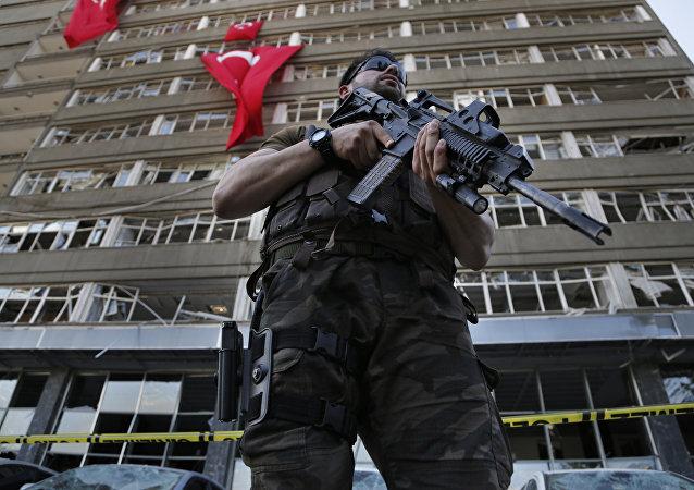 Un commando turc