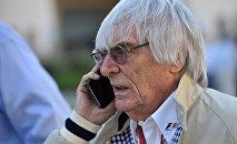 Bernie Ecclestone, patron de la Formule