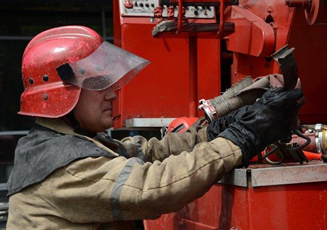 Pompier. Image d'illustration