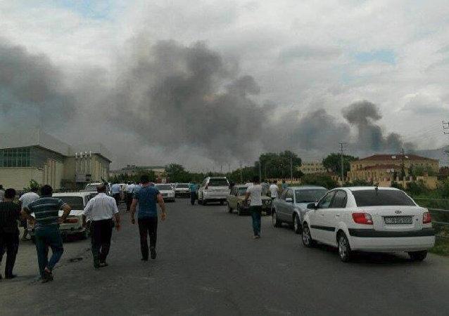 Une forte explosion dans une usine d'armement en Azerbaïdjan