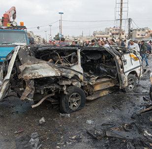 Attentat en Syrie. Archive photo