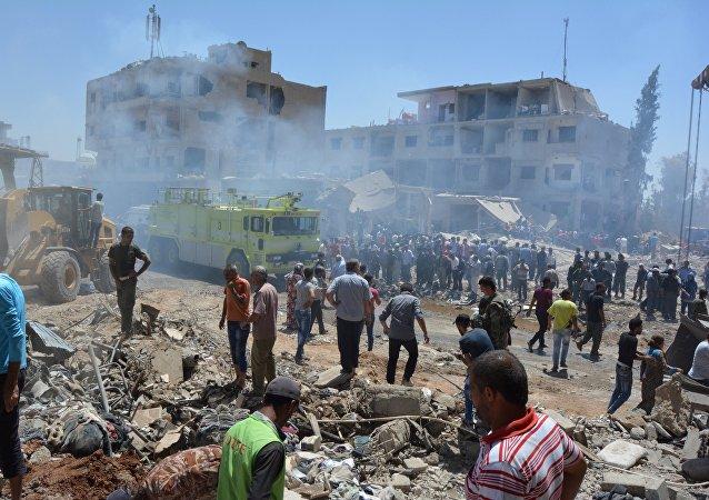 Attentat  dans la ville syrienne de Qamichli