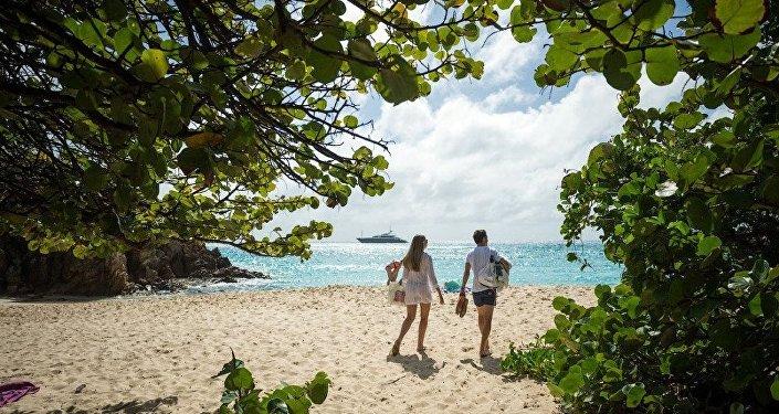 Une promenade sur l'île