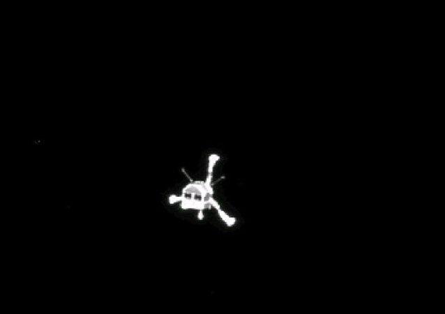 Le robot Philae a atterri sur la comète Tchouri, une première dans l'histoire spatiale