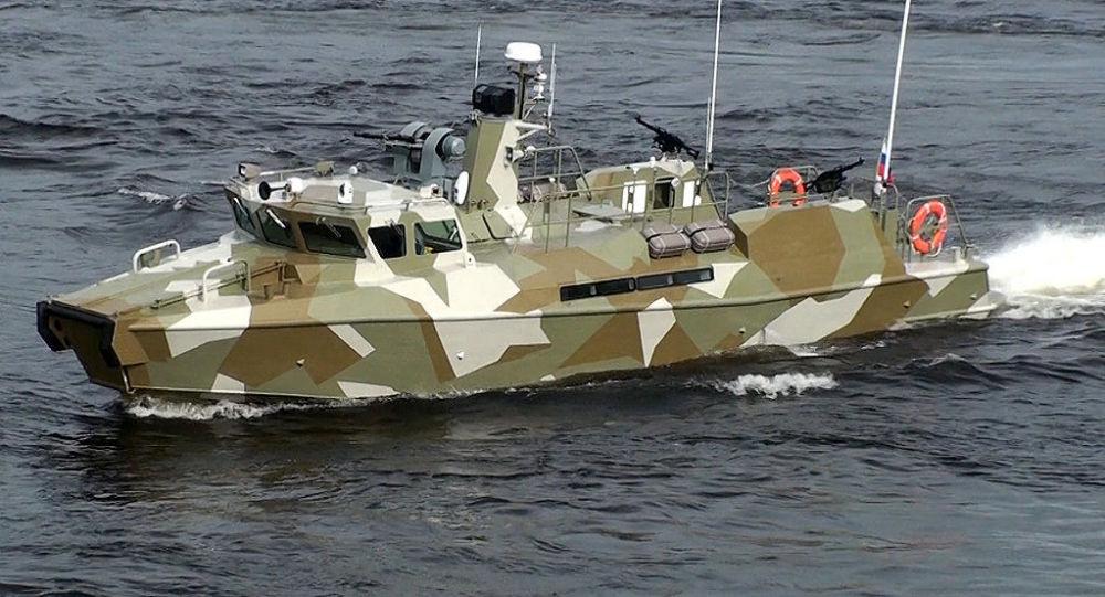 Schnellboot des Typs Raptor