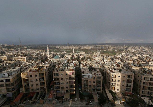 La ville syrienne d'Alep