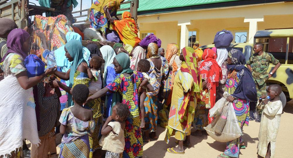 Des femmes et des enfants sauvés des griffes de Boko Haram, Nigeria