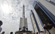 La fusée chinoise Longue marche 7
