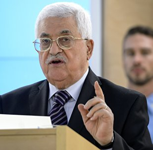 Le chef de l'Etat palestinien Mahmoud Abbas