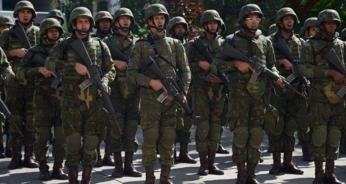 L'armée en renfort pour la sécurité des JO de Rio