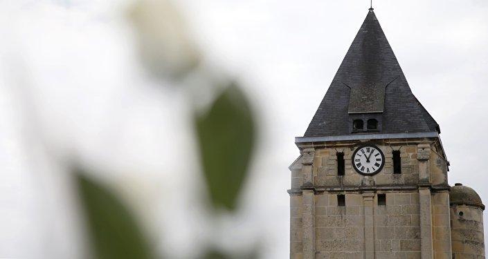 l'église de Saint-Etienne-du-Rouvray