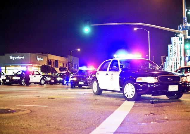 La police de Los Angeles
