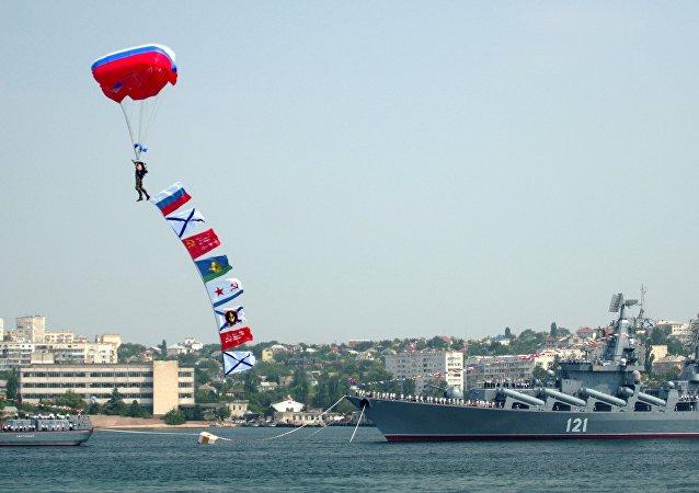 le Jour de la marine à Sébastopol
