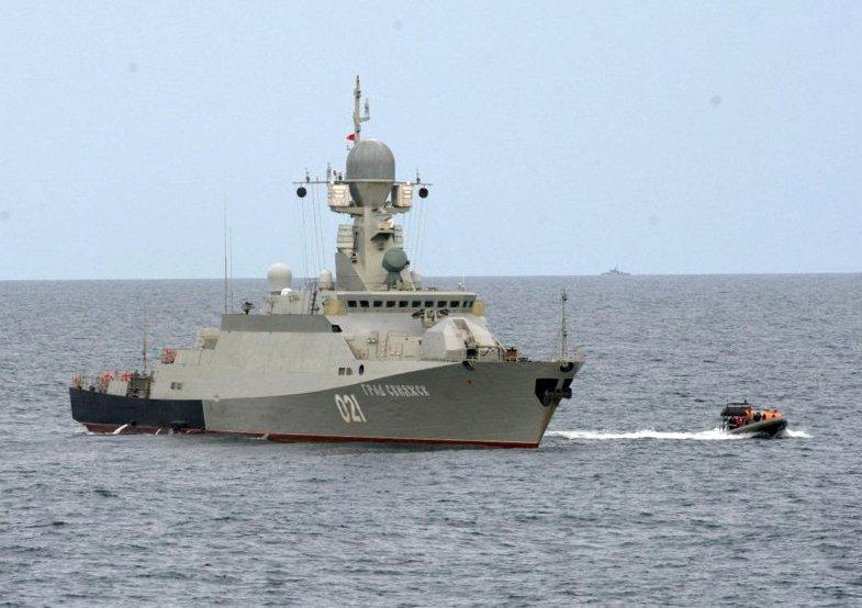 Le navire Grad Sviyajsk