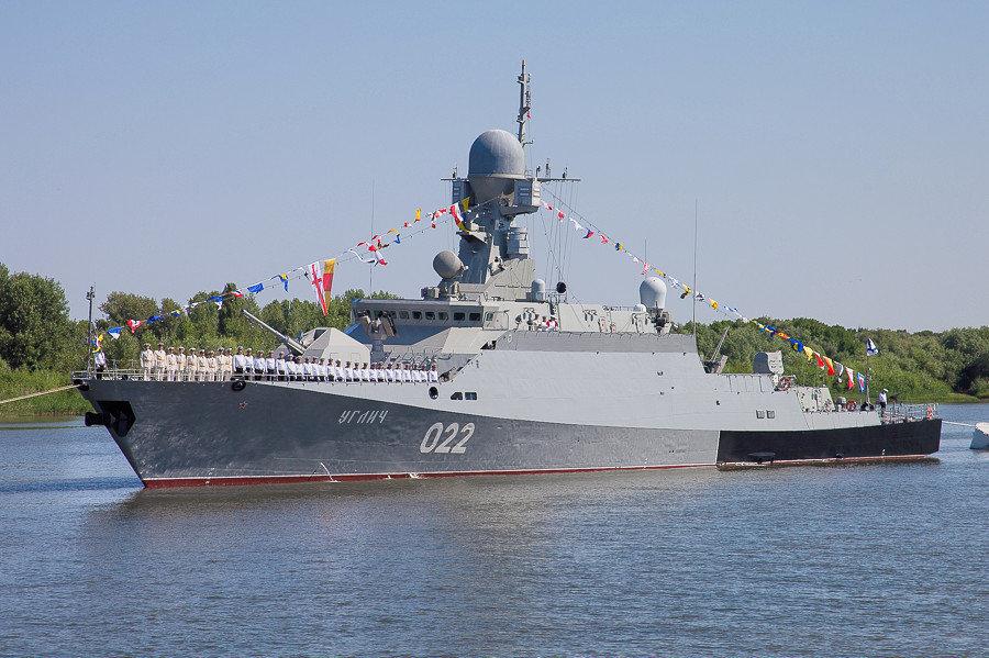 Le navire Ouglich