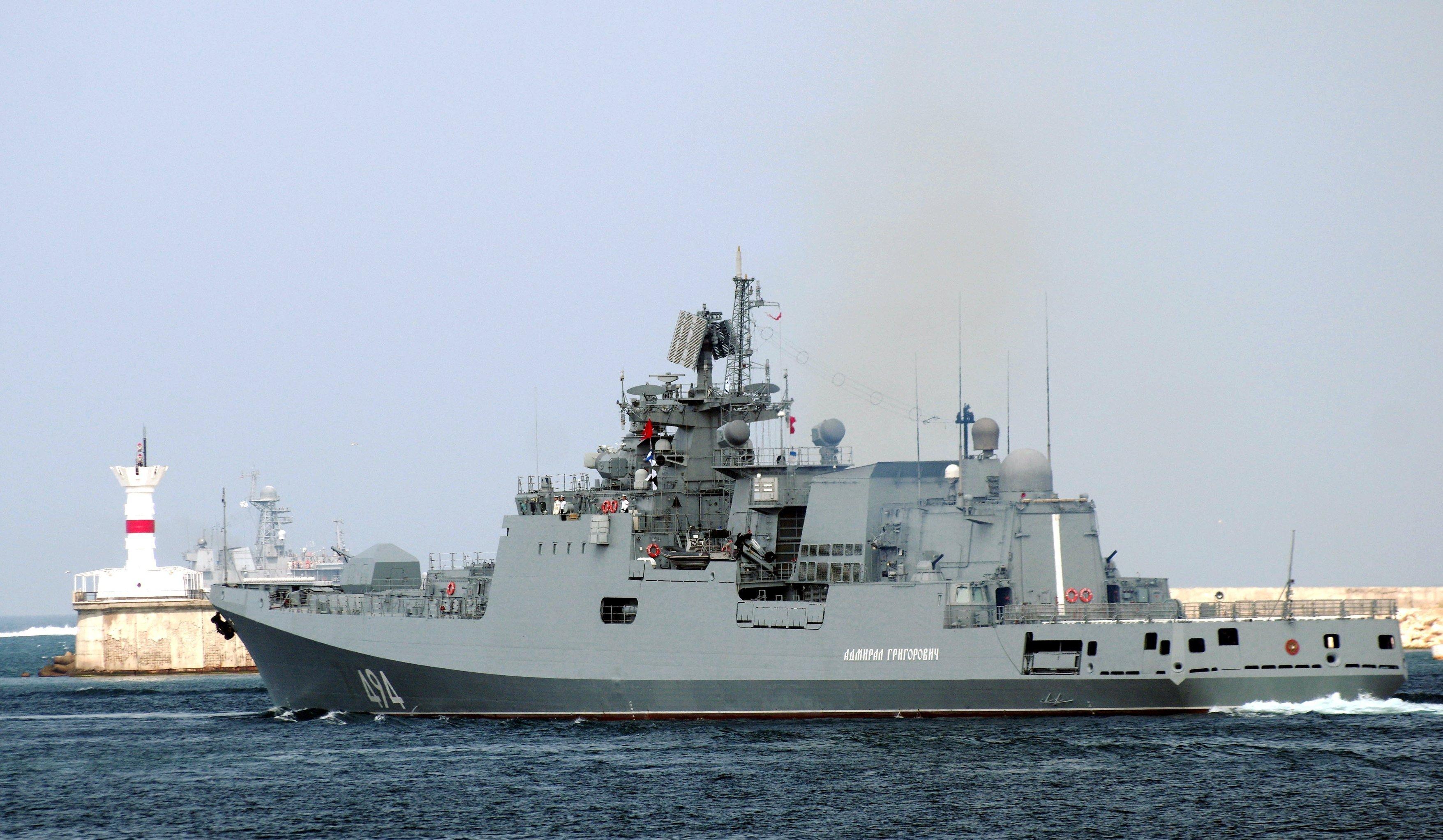 La frégate Admiral Grigorovich