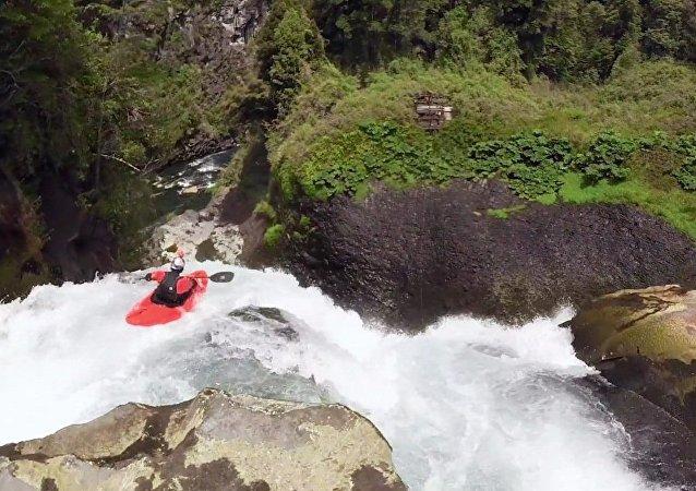 Kayak extrême