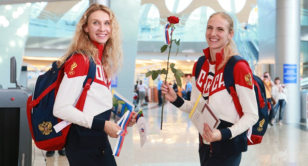 La sélection olympique russe en route pour Rio