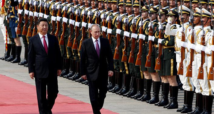 Vladimir Putin et Xi Jinping