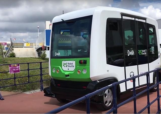 Le Japon teste un nouveau bus sans pilote
