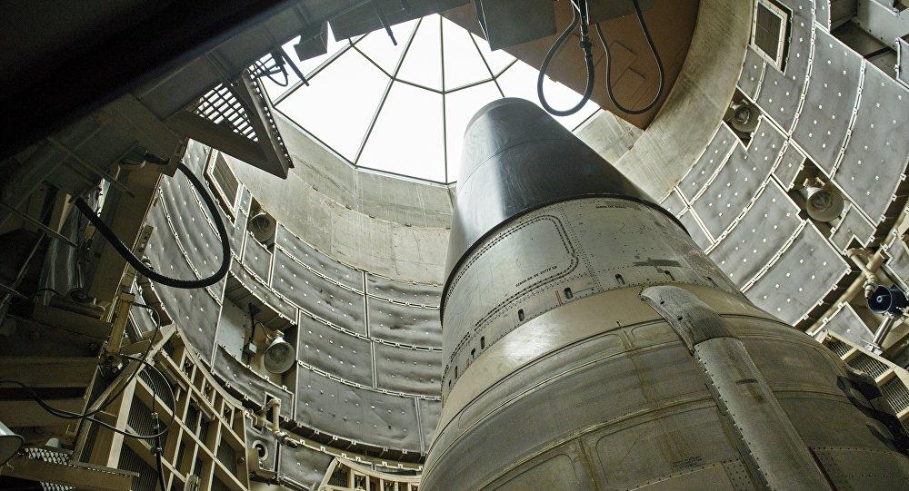 un missile nucléaire américain