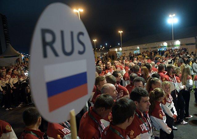 Sportifs russes aux JO