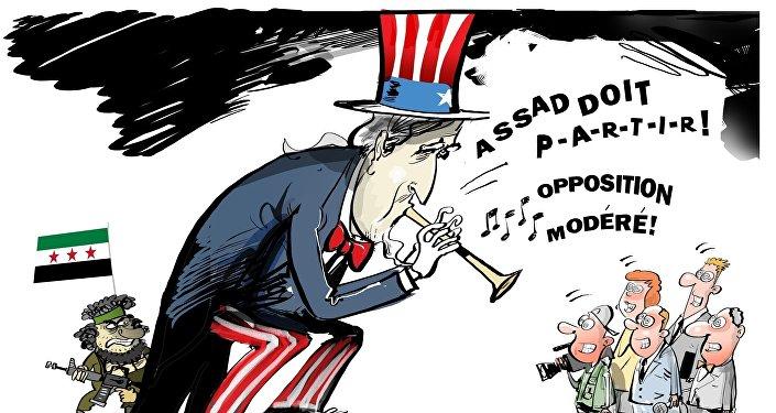 Les rebelles modérés soutenus par les USA utilisent des gaz toxiques à Alep
