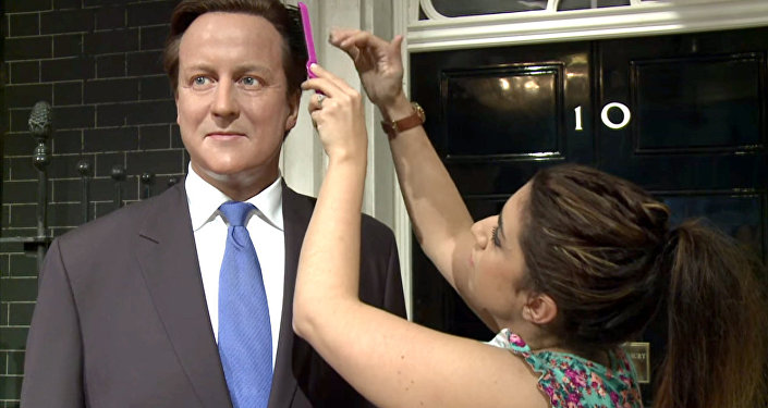 David Cameron chez Madame Tussauds