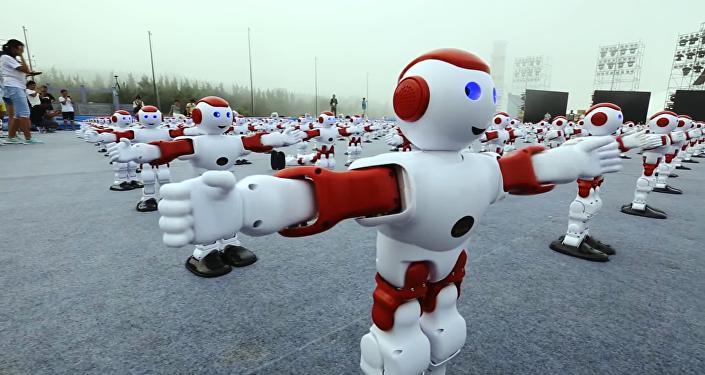 Quand un millier de robots se mettent à danser (Vidéo)