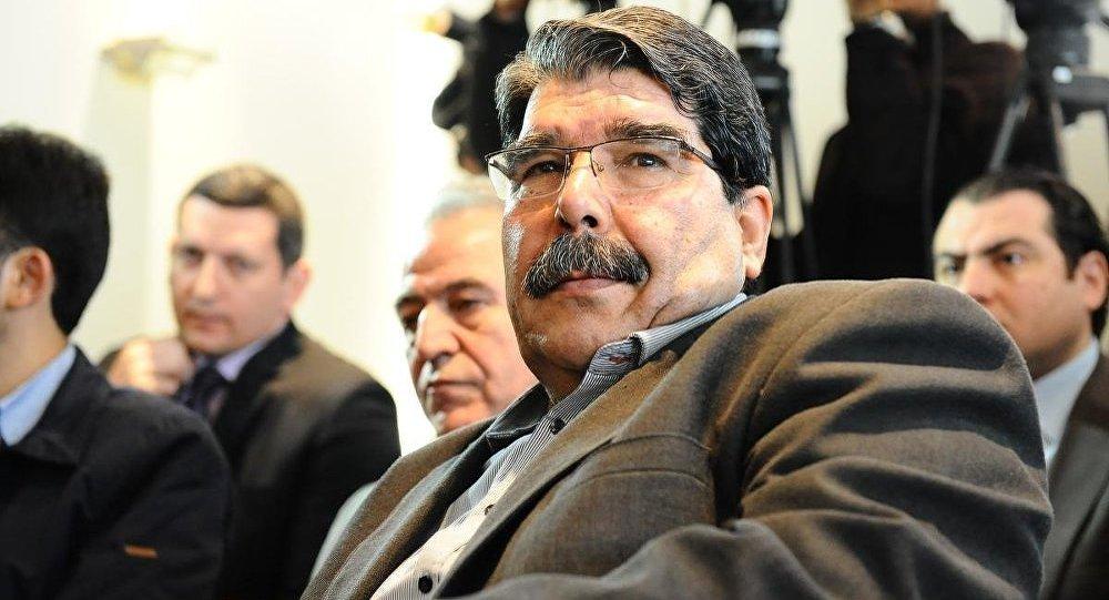 Salih Muslim, leader des Kurde syriens