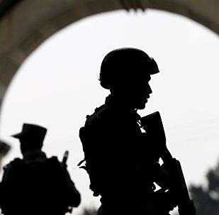 Les forces de l'ordre afghanes
