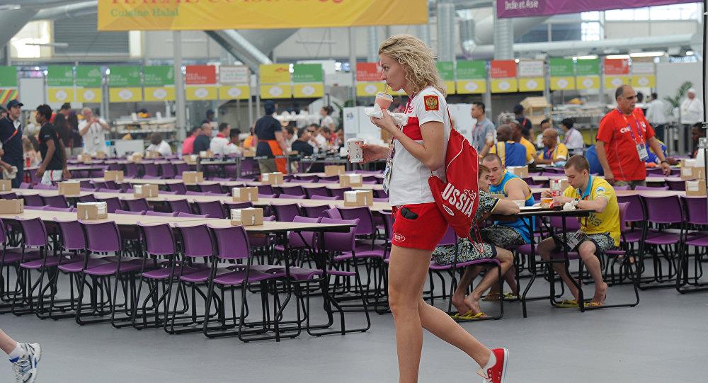 la nourriture olympique
