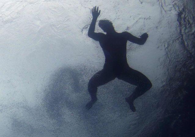 Un nageur à Rio