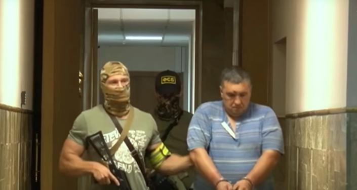Un saboteur ukrainien