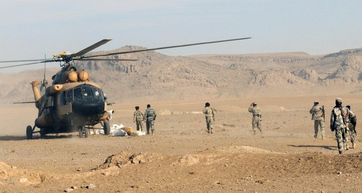 Mi-17 en Afghanistan